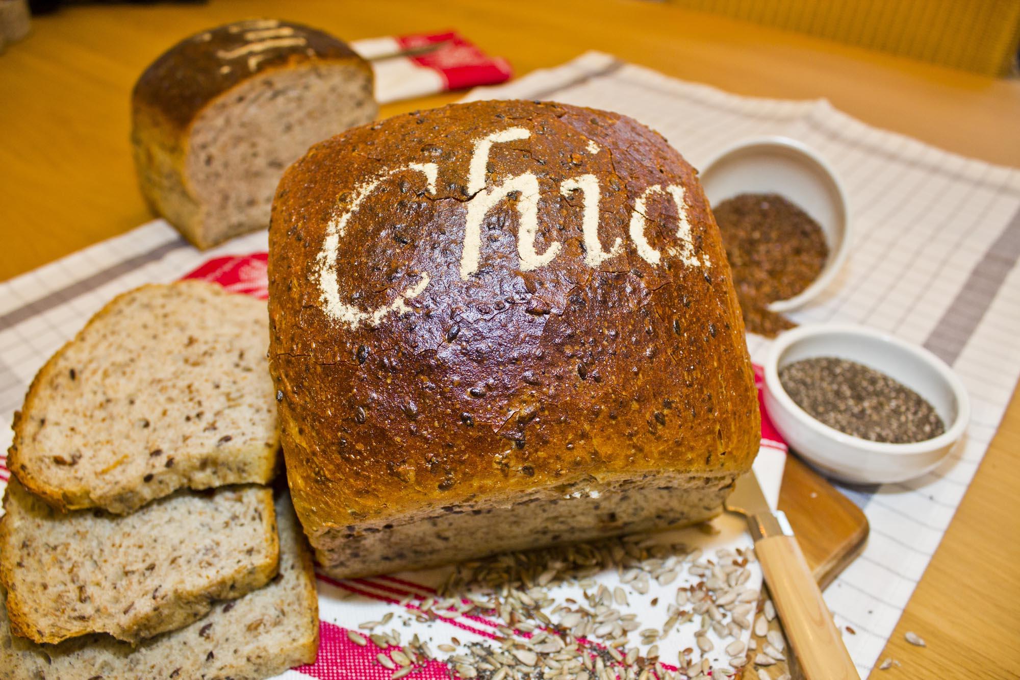 Chia-Brot (750 g)