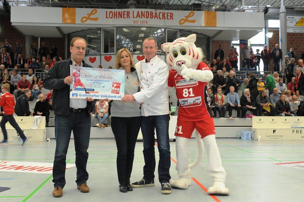 3.000,00 Euro für die HSG Nordhorn-Lingen