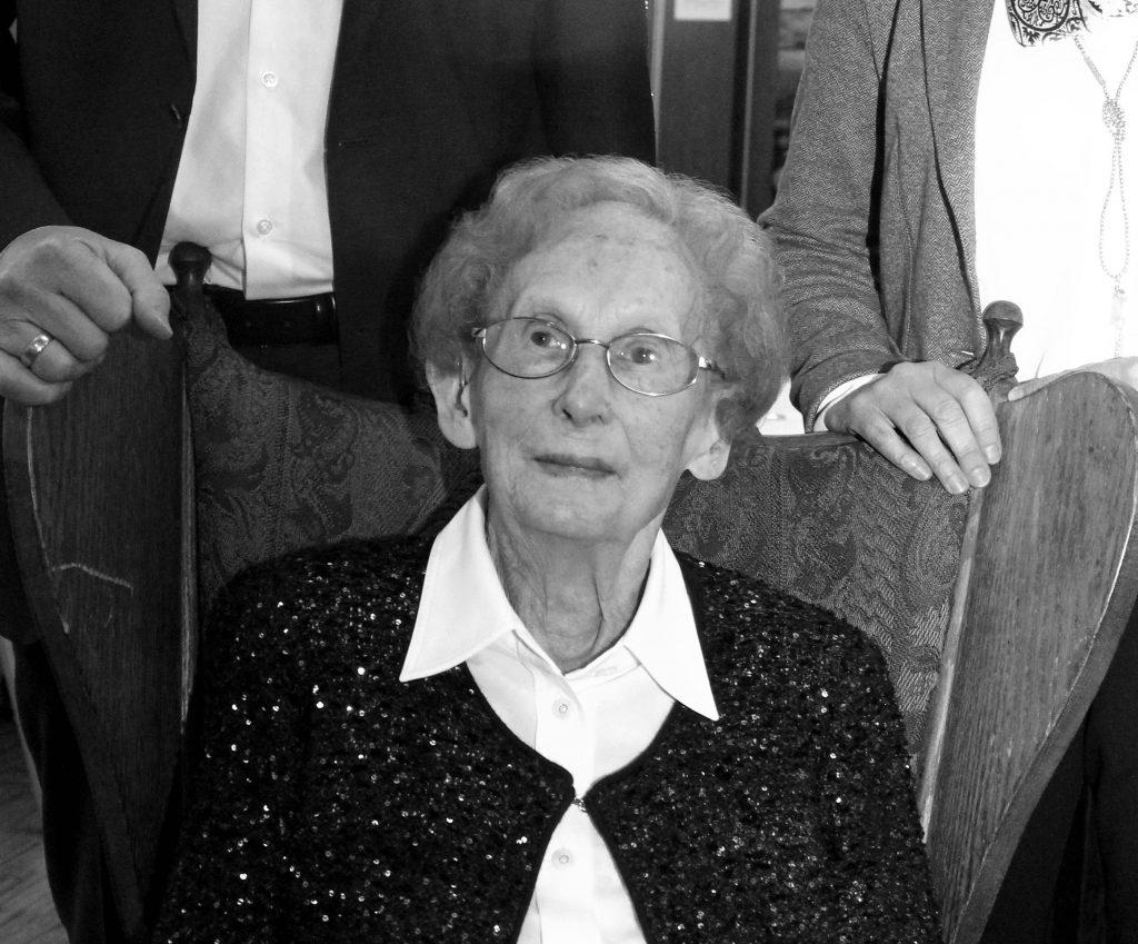 Wir trauern um unsere Seniorchefin Maria van Lengerich